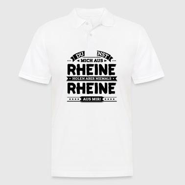 suchbegriff 39 rhein 39 poloshirts online bestellen spreadshirt. Black Bedroom Furniture Sets. Home Design Ideas