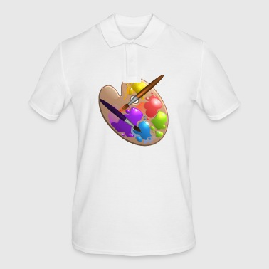 Paint Brushes - Men's Polo Shirt