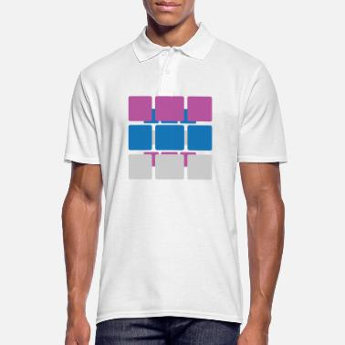 Square Squares - Men's Polo Shirt