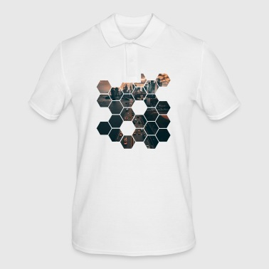Hexagon - Men's Polo Shirt