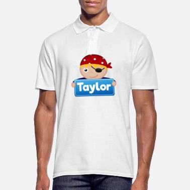 Taylor Little Pirate Taylor - Men's Polo Shirt