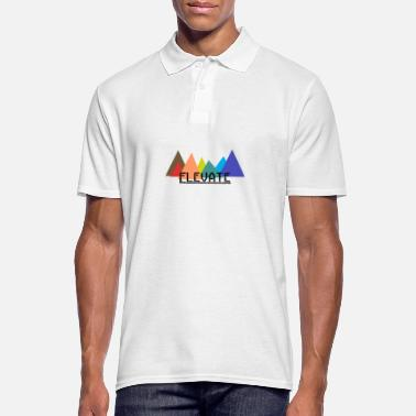 Elevator Elevated to the Mountains - Men's Polo Shirt
