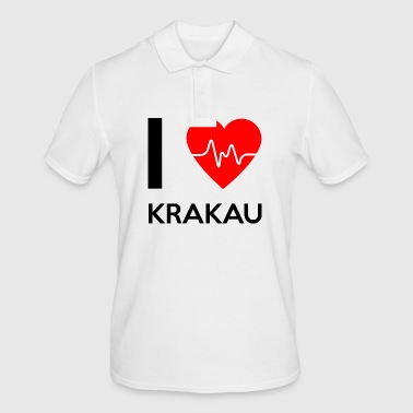 I Love Krakow - I love Krakow - Men's Polo Shirt