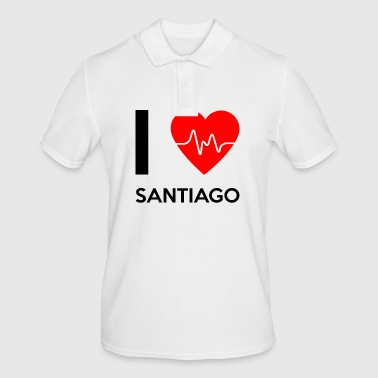 I Love Santiago - I Love Santiago - Men's Polo Shirt