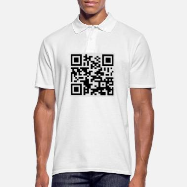 Offensif Offensive QR Code - Polo Homme