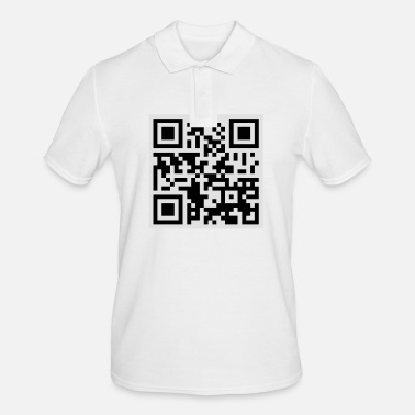 Offensive Offensive QR Code - Men's Polo Shirt
