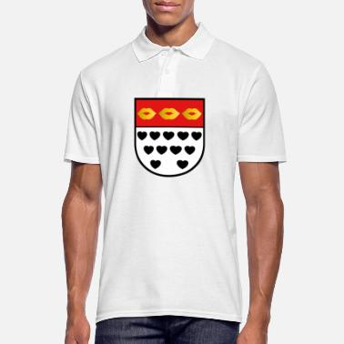 Family Kölsches crest for lovers colorful - Men's Polo Shirt