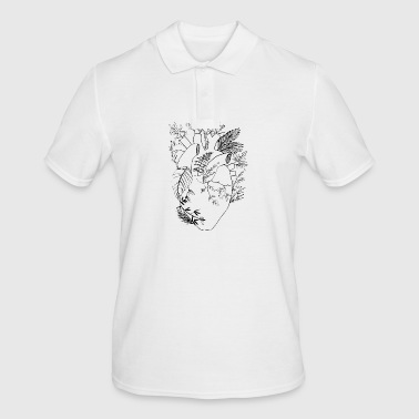 coeur naturel - Polo Homme