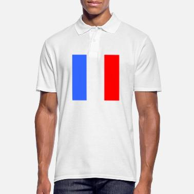 French Flag French flag - Men's Polo Shirt
