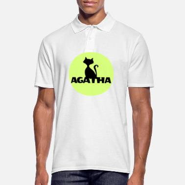 Name Day Agatha Name First name Name Motif name day - Men's Polo Shirt