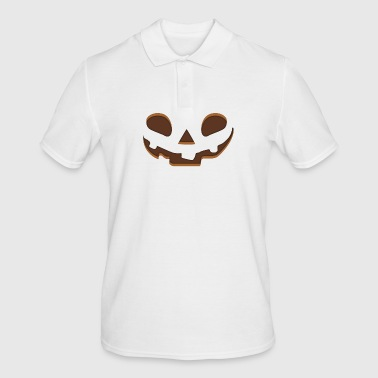 Happy Halloween Face - Men's Polo Shirt