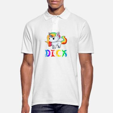 Dick Unicorn Dick - Men's Polo Shirt