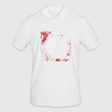 stencil shield - Men's Polo Shirt
