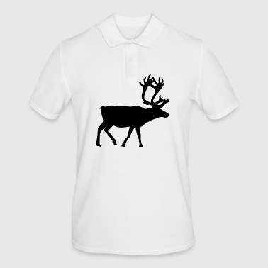reindeer - Men's Polo Shirt