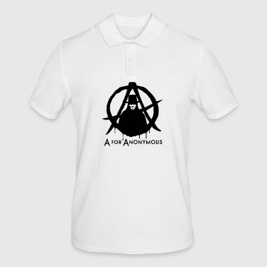 Anonymous - A for Anonymous - We are legion - Männer Poloshirt