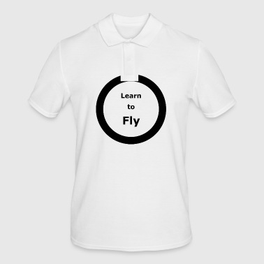 Template 3000x3000 CIRCLE Learn to Fly 2 - Men's Polo Shirt