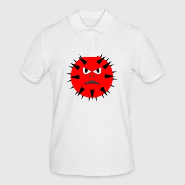 Red ball with spikes - Men's Polo Shirt