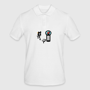 Kuoro at the museum - Men's Polo Shirt