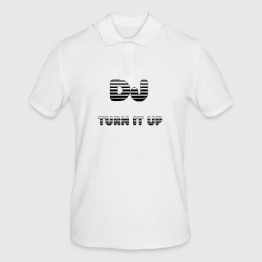DJ TURN IT UP - Men's Polo Shirt