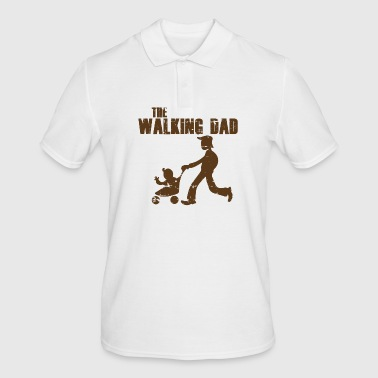 WALKING DAD - Männer Poloshirt