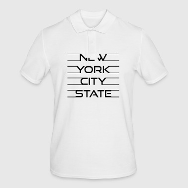 New York City State - Mannen poloshirt