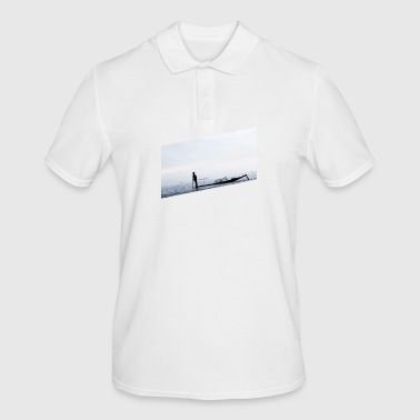 Rowing boat on the ocean - Men's Polo Shirt