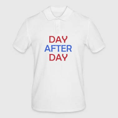 Day After Day - Männer Poloshirt