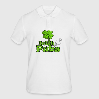 Irish pubs funny pubs shirt - Men's Polo Shirt