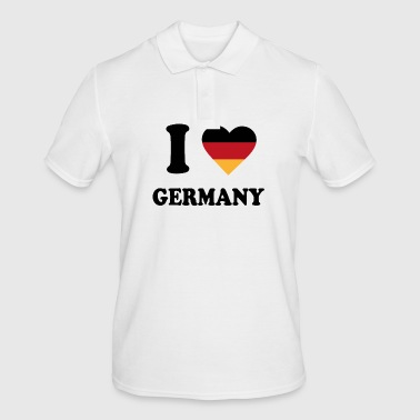 I love Germany - Männer Poloshirt