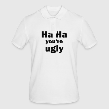 ugly - Men's Polo Shirt
