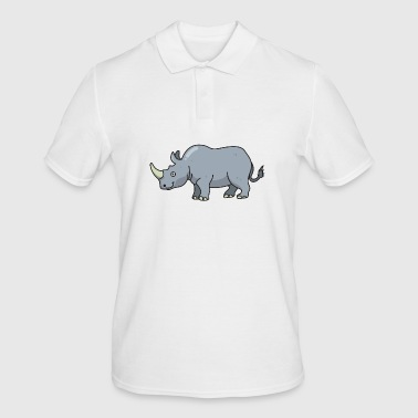 Rhino Rhino Rhino - Men's Polo Shirt