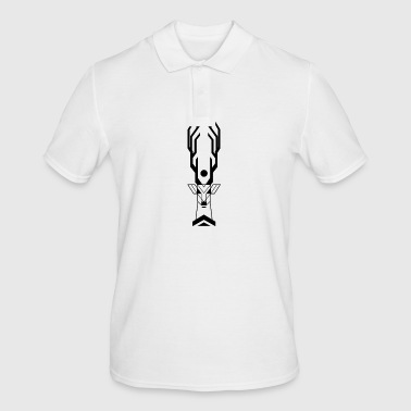 Deer mythology Indian - Men's Polo Shirt