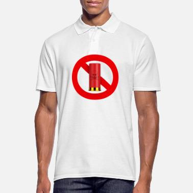 Prohibited Hunting Prohibition - Men's Polo Shirt