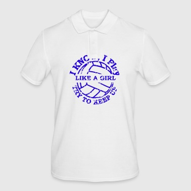 Volleyball volleyball team gift team - Men's Polo Shirt