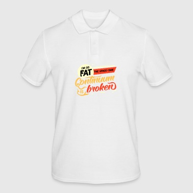 Lazy Fat Fat Fat Fat gave ide - Herre poloshirt