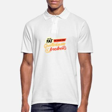 Fat Lazy fat fat fat fat gift idea - Men's Polo Shirt