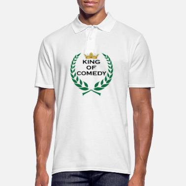 Comedy King of Comedy King Gift - Men's Polo Shirt