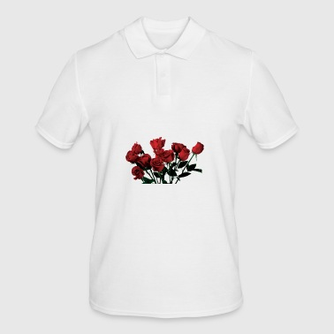 Roses red roses - Men's Polo Shirt