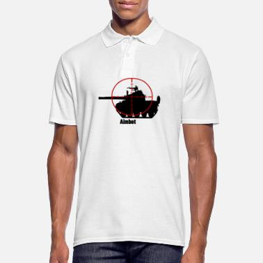 Tank Aimbot tank gift gift idea - Men's Polo Shirt
