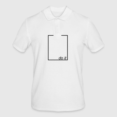 do it - Men's Polo Shirt