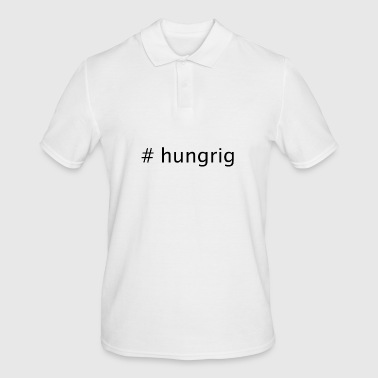 #hungry - Men's Polo Shirt