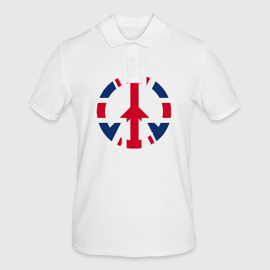 Uk Vredesteken icoon UK UK - Mannen poloshirt