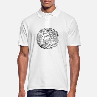 Parametric parametric design sphere - Men's Polo Shirt