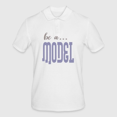 be a model - Men's Polo Shirt