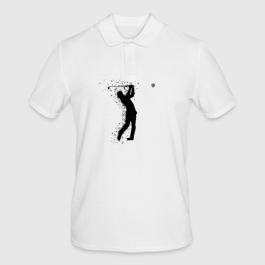 Golf Golfer Golf Course Golfer - Men's Polo Shirt