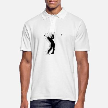 Golf Golf Golfer Golf Course Golfer - Poloskjorte for menn