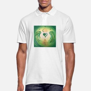 Healing Heartgel of healing - Men's Polo Shirt