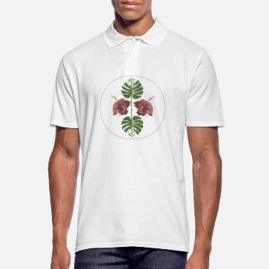 Hibiscus Hibiscus plant - Men's Polo Shirt