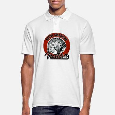 American Indian Indian Apache Native American Native American Indian - Men's Polo Shirt