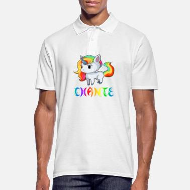 Chant Unicorn Chante - Men's Polo Shirt